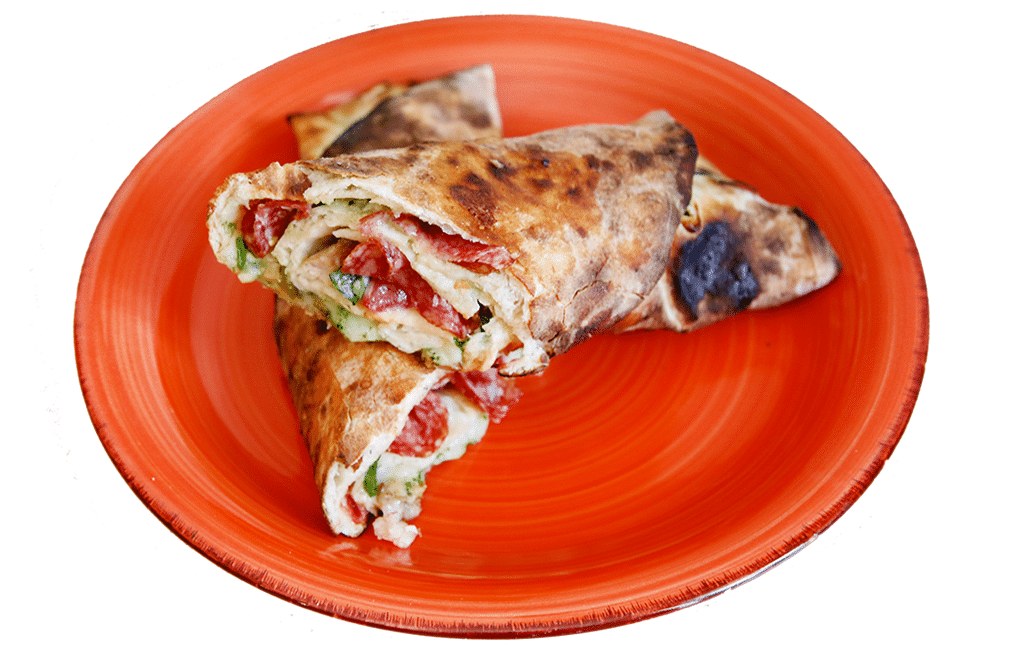 Pizza roll-up salam